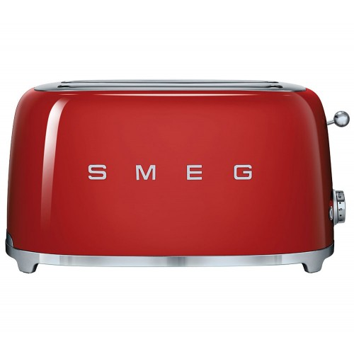 SMEG 4-SLICE TOASTER - RED