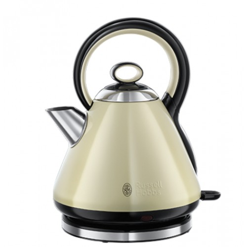 Russell Hobbs Legacy Quiet Boil Cream Kettle 21888