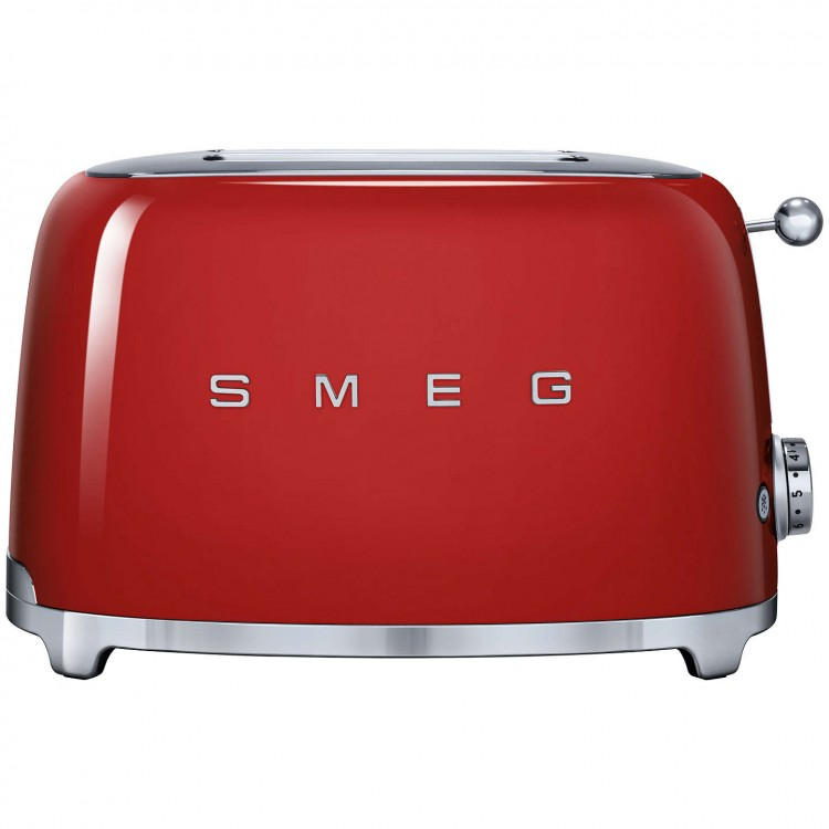 SMEG 2-SLICE TOASTER - RED
