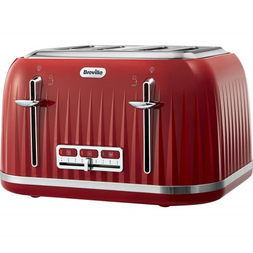 BREVILLE Impressions 4-Slice Toaster - Venetian Red