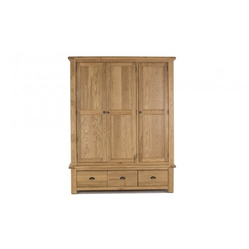 Breeze Wardrobe - 3 Door