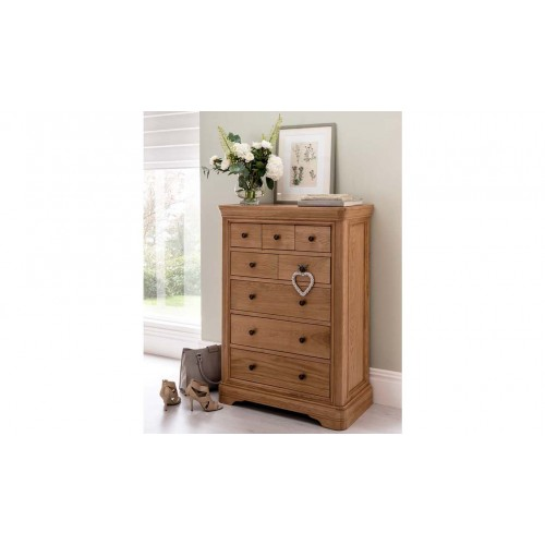 Carmen Tall Chest - 8 Drawer