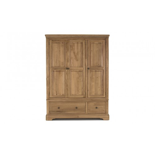 Carmen Wardrobe - 3 Door/2 Drawer