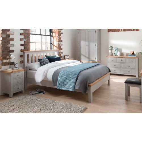 Clemence Bed - 6'