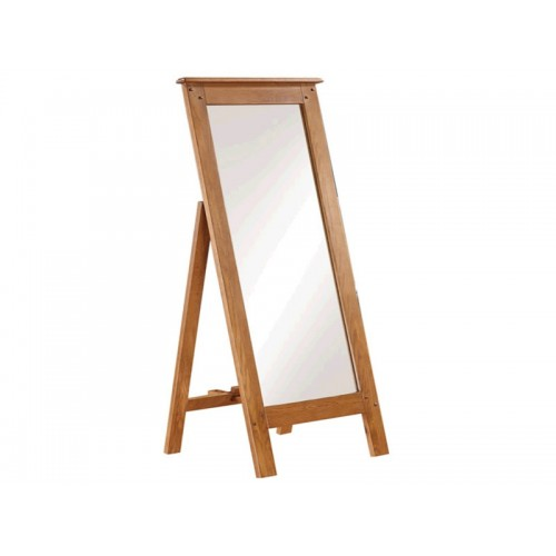 Henri Oak Cheval Mirror