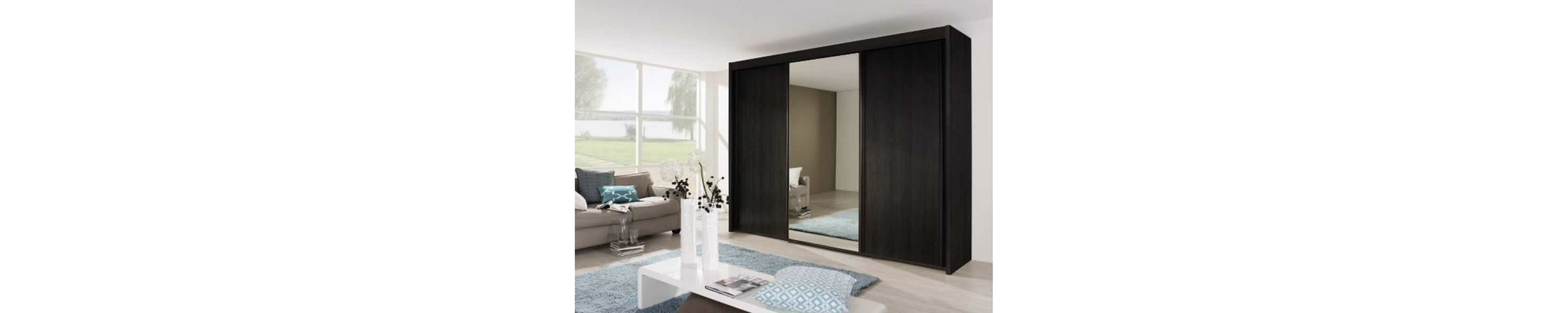 Imperial Wardrobes - Front Wooden and Mirror