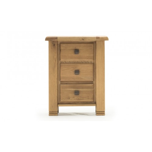 York Night Table - 3 Drawer