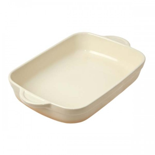 DENBY Barley Ceramic Medium Oblong Dish