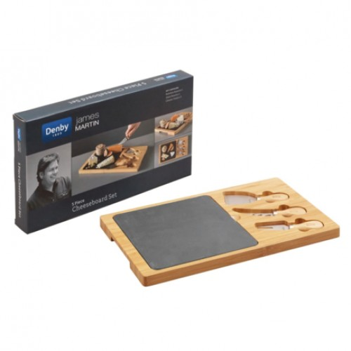 James Martin 5 Pc Cheese Board Set