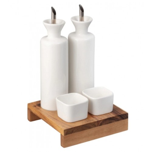 James Martin 5 Pc Condiment Set