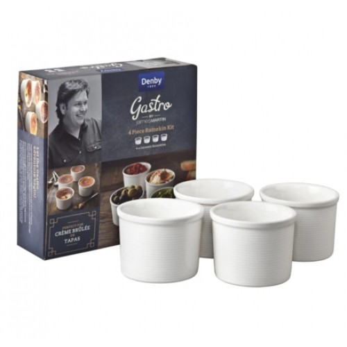 James Martin Gastro 4 Piece Ramekin Kit