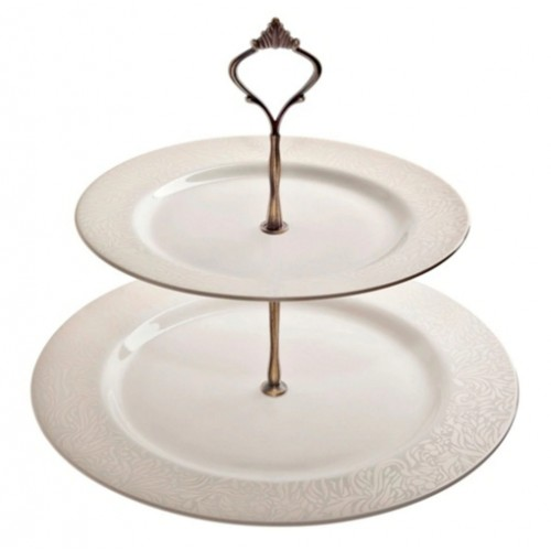 Monsoon Lucille Gold Cake Stand