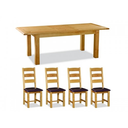 Aylesbury 4ft Table And 4 Chairs