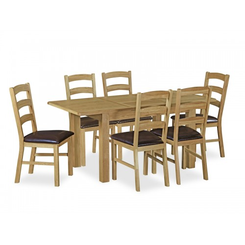 Aylesbury Compact Ext Table And 6 Chairs