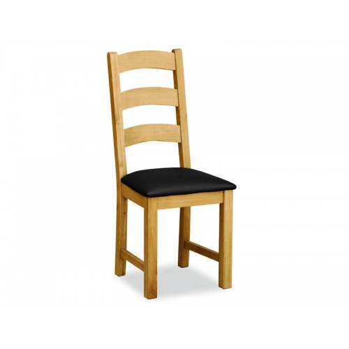 Aylesbury Compact Ladder Dining Chair Black