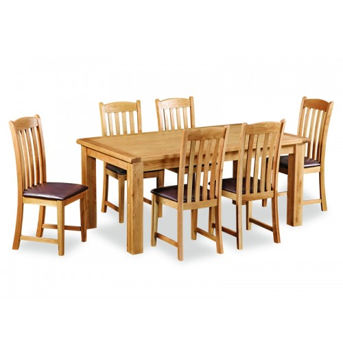 Aylesbury 6ft Table And 6 Chairs