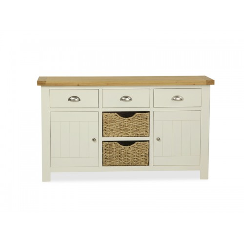 Country Cream Large Sideboard
