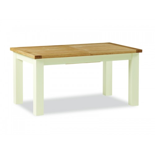Country Cream Small Extending Table
