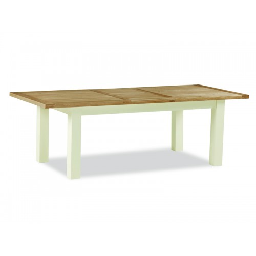 Country Cream Large Extending Table