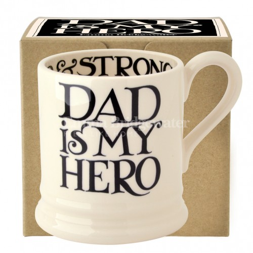 Emma Bridgewater Black Toast Father's Day 1/2 Pint Mug Boxed