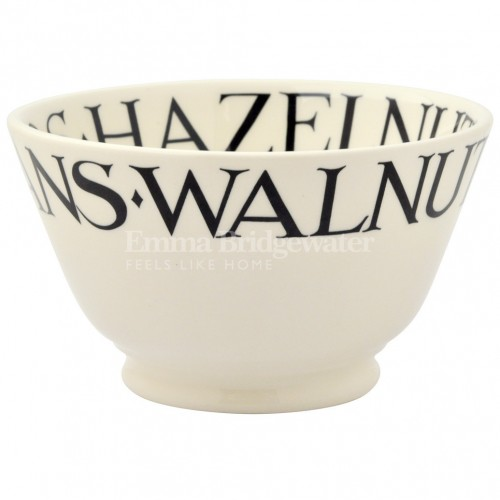 Emma Bridgewater Black Toast Nuts Small Old Bowl