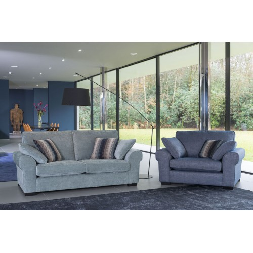 Camden 3 Seater sofa and Snuggler