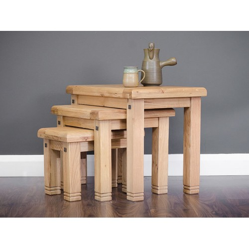 York Nest of 3 Tables