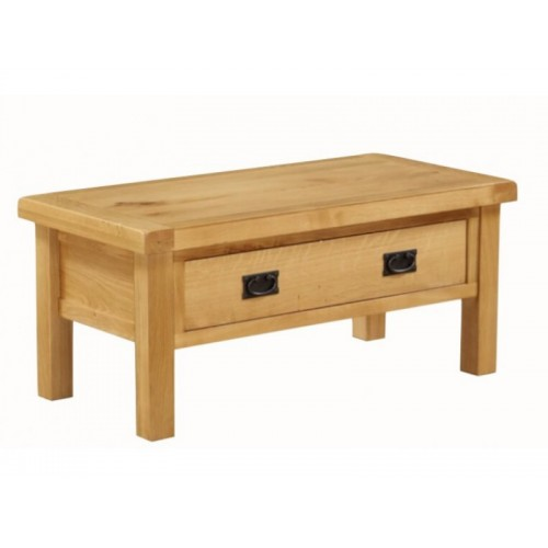 Sorrento Coffee Table Small Drawered