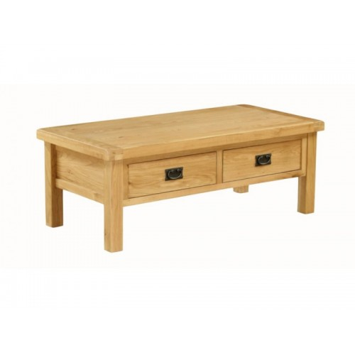 Sorrento Coffee Table Large Drawered