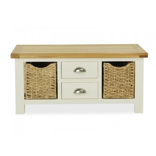 Country Cream Large Coffee Table