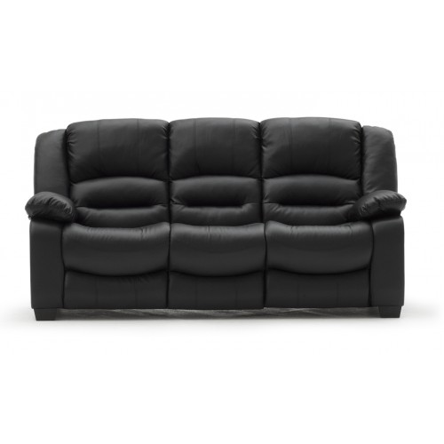 Barletto 3 Seater Fixed - Black