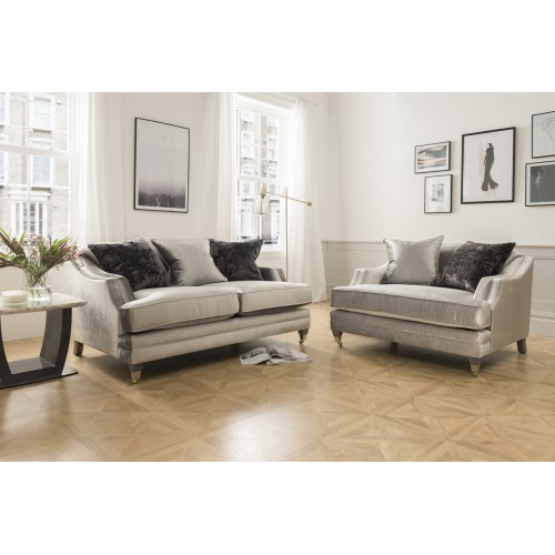 Belvedere 2 Seater - Pewter - 3 scatter