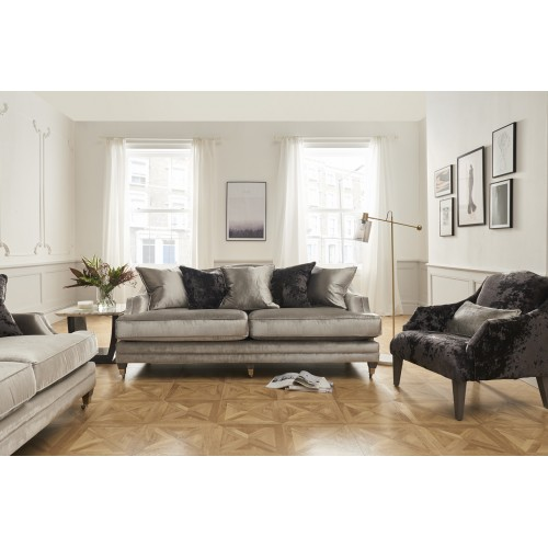 Belvedere 4 Seater - Pewter - 5 scatter