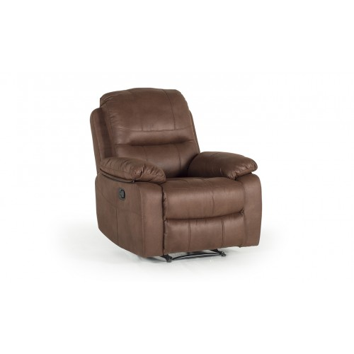 Morley 1 Seater Reclining - Dark Brown