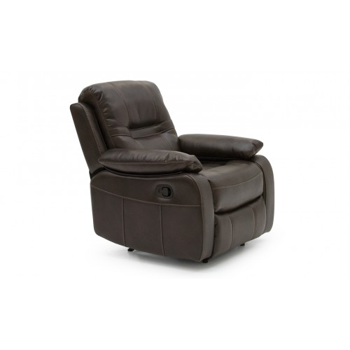 Kennedy 1 Seater Recliner - Brown