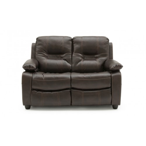 Kennedy 2 Seater Fixed - Brown