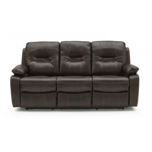 Kennedy 3 Seater Recliner - Brown