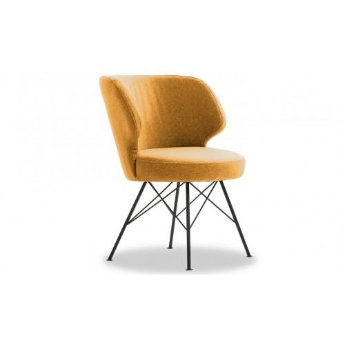 Erwan Accent Chair - Mustard