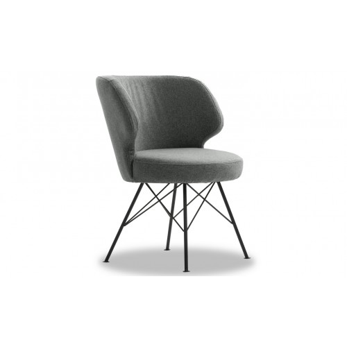 Erwan Accent Chair -Light Grey