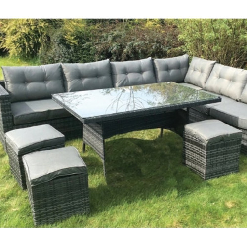 Garden Sofa, table and stools