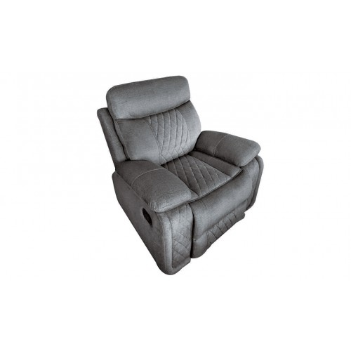Eason 1 Seater Recliner - Grey