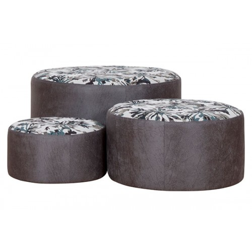Denny Dollies Footstools - Set of 3