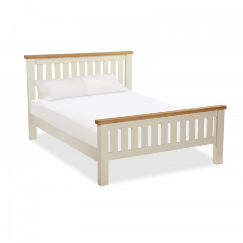 Country Cream SLATTED BED 5'
