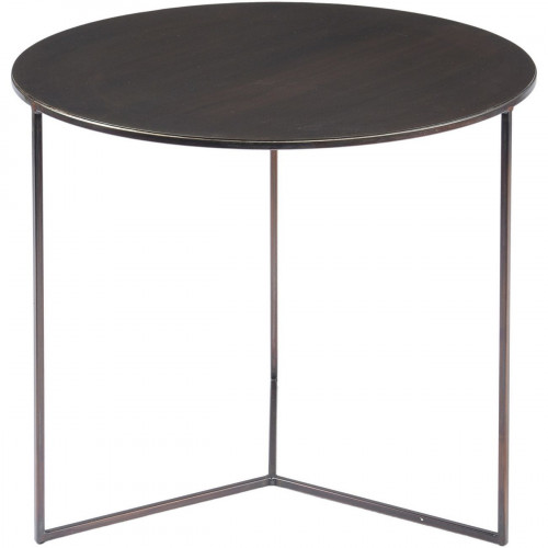 Libra Fitzroy Bronze Side Table Large