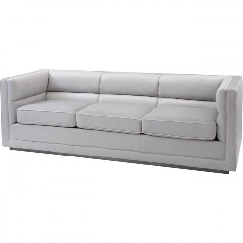 Libra Astell Light Grey Three Seater Sofa