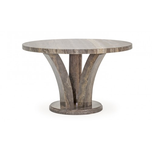 Amalfi Dining Table - Pearl Grey Round 1250