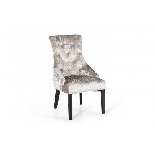 Eden Knockerback Chair - Mink