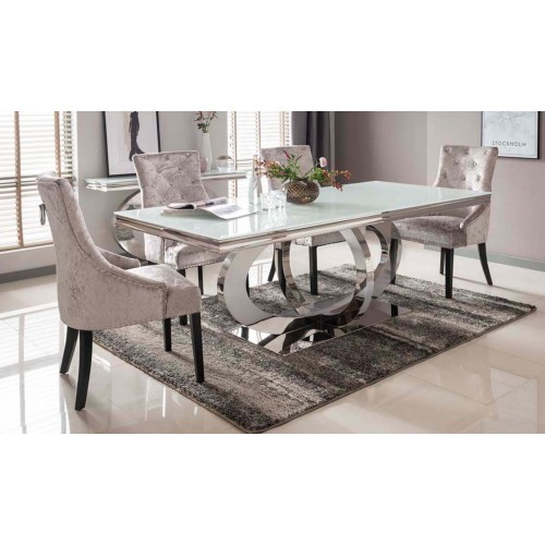 Orion 2200 Dining Table - White