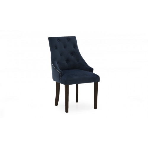 Hobbs Dining Chair - Velvet Midnight