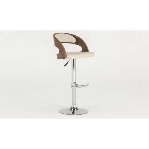 Flair Bar Chair - Cream